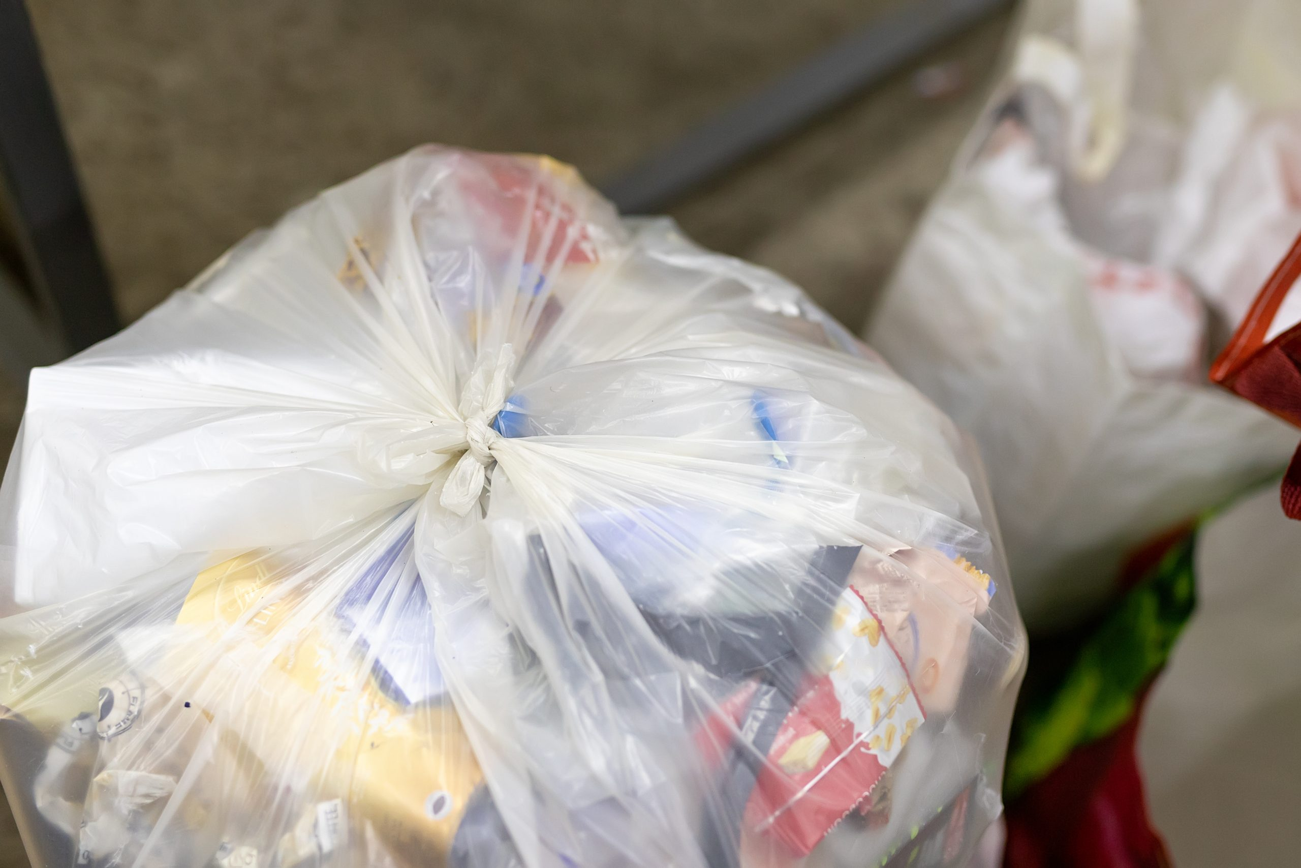 clear bin bags medium duty