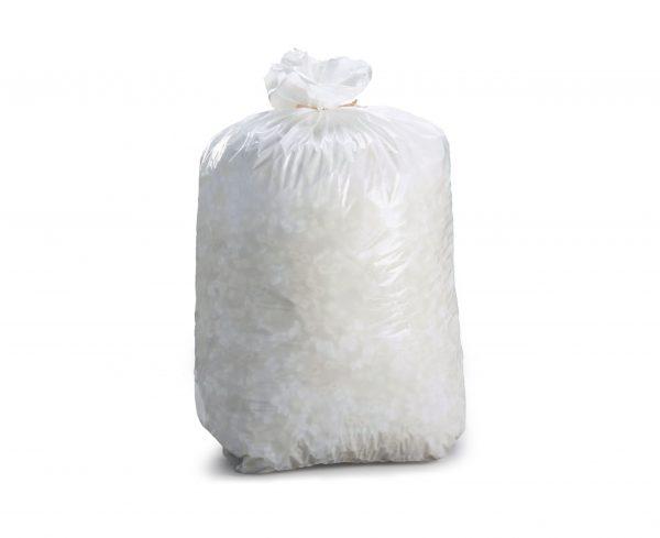 White bin bags medium duty
