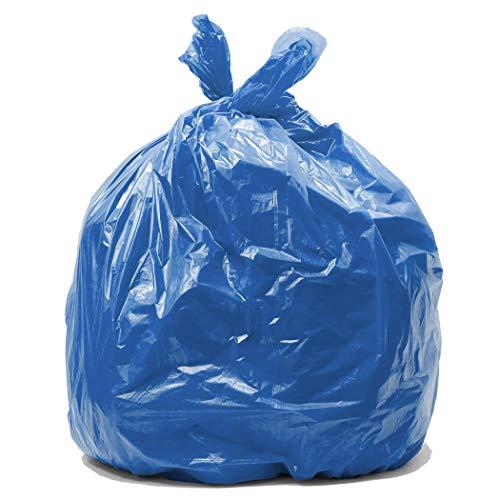 Blue bin bags