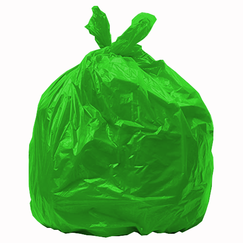 Green bin bags medium duty