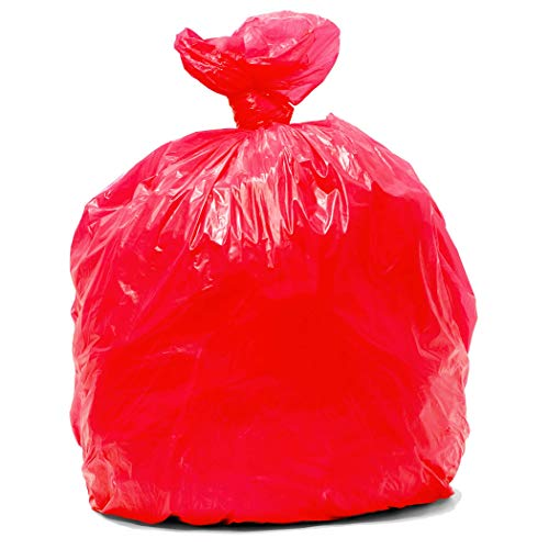 Red bin bags